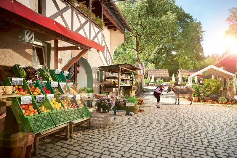 Der Hofladen der Eselsmühle: ein Fundus für Hobby- und Profiköche. Das Café: ein Hort der Genüsse