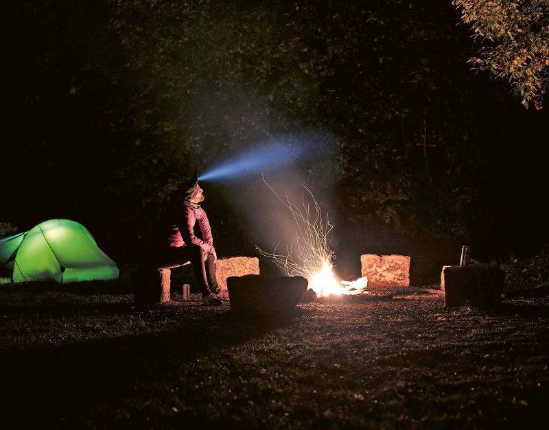 Resümieren, abschalten und den Tag am Lagerfeuer ausklingen lassen