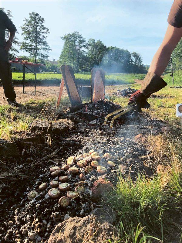 Pilze, aber auch Kartoffeln und Gemüse, die in der Glut gegart werden, sind ein intensives Geschmackserlebnis.