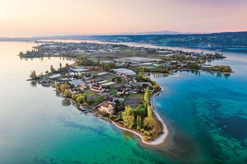 Vom Wasser umspültes Kleinod: Insel Reichenau, Welterbe im Bodensee