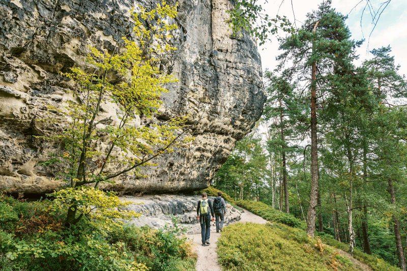 Der Goldsteig: an imposanten Felsformationen und Naturschönheiten kaum zu überbieten