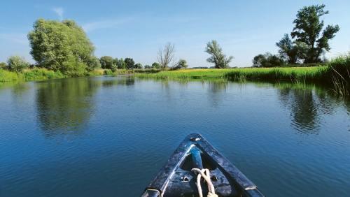 Für ein erstes Paddelabenteuer auf der Oker bietet sich eine Tour nach Meinersen an.