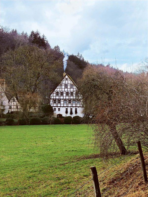 Die im 15. Jh. erstmals erwähnte Schlechtenmühle ist heute in Privatbesitz