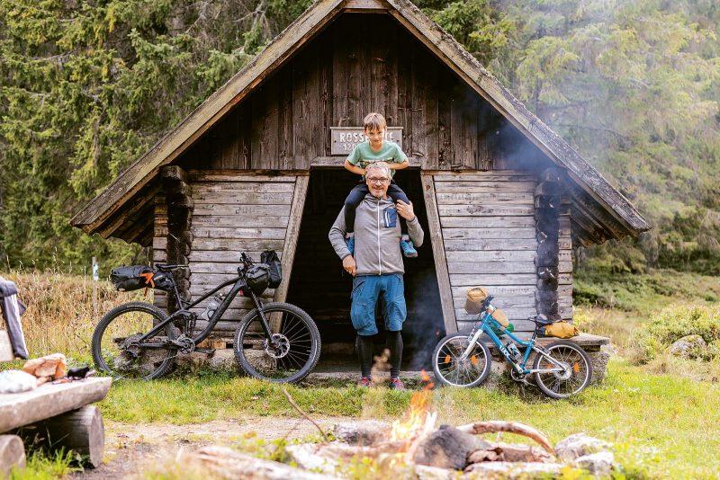 Bikepacking mit dem Nachwuchs