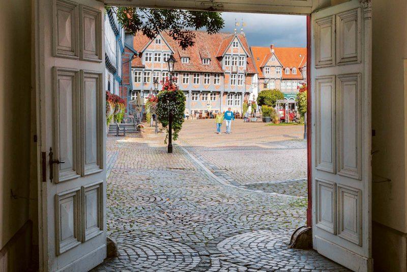 Herzstück Wolfenbüttels ist der von Fachwerkbauten gesäumte Stadtmarkt.