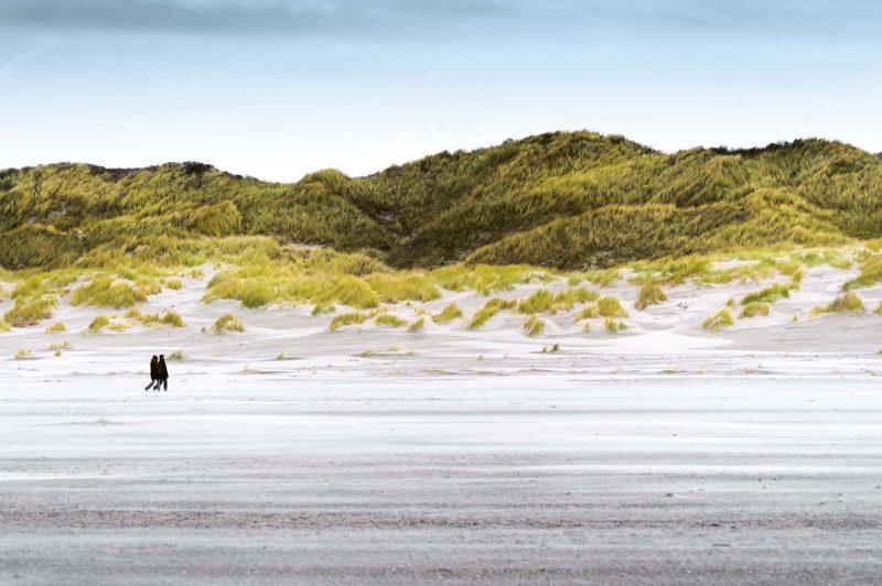 An der Bill treffen Nordsee und Wattenmeer aufeinander. Bei Ebbe erstreckt sich hier allerdings ein riesiges Sandmeer.