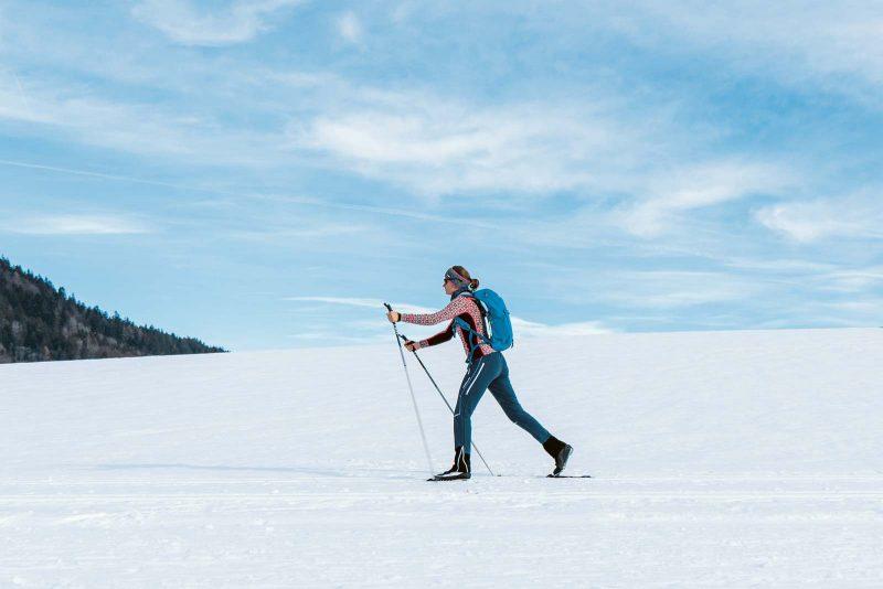 Schneesicher von Dezember bis April und abseits der Touristenströme: Balderschwang im Oberallgäu