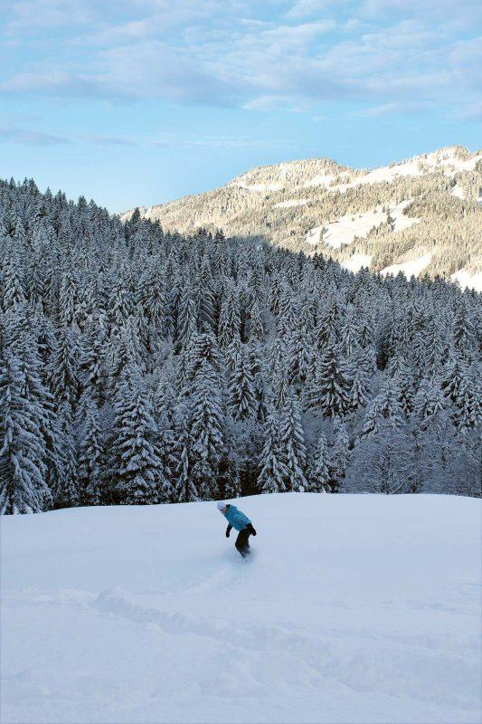 Das »Schneeloch« Balderschwang gilt bei Wintersportlern als Geheimtipp.