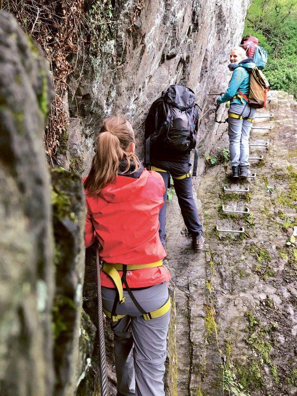 Via Ferrata in Boppard: ein perfekter Klettersteig für Anfänger– Traumblick inbegriffen